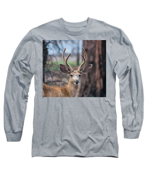 Deer Stare Long Sleeve T-Shirt