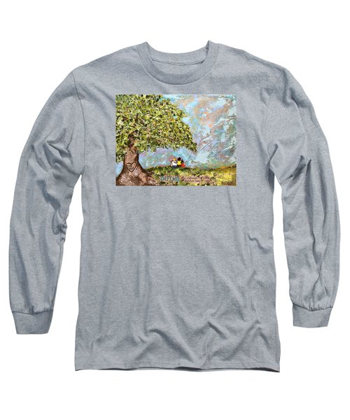 Defend The Fatherless Long Sleeve T-Shirt by Kirsten Reed