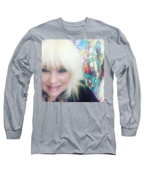 Del Mar Artist Long Sleeve T-Shirt by Heather Roddy