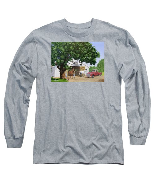 Deming Stables Long Sleeve T-Shirt
