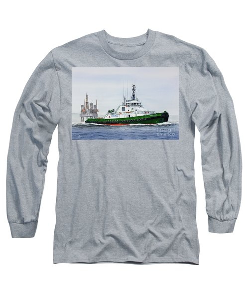 Long Sleeve T-Shirt featuring the painting Denise Foss by James Williamson