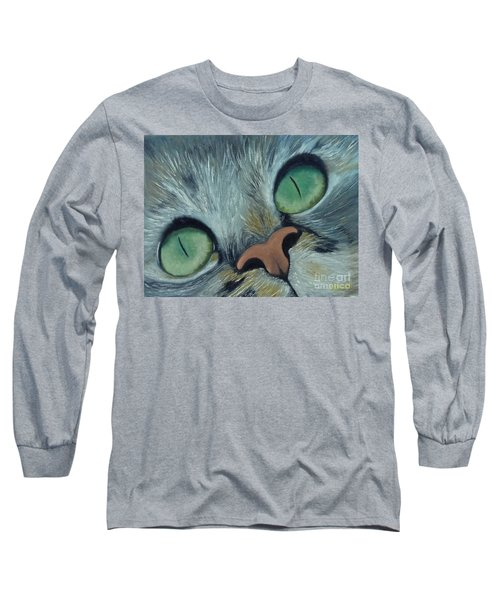 Denise's Cat Jasmine Long Sleeve T-Shirt