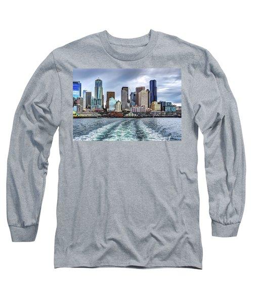 Departing Pier 54 Long Sleeve T-Shirt