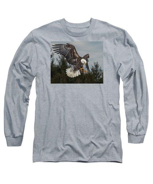 Descending Eagle Long Sleeve T-Shirt