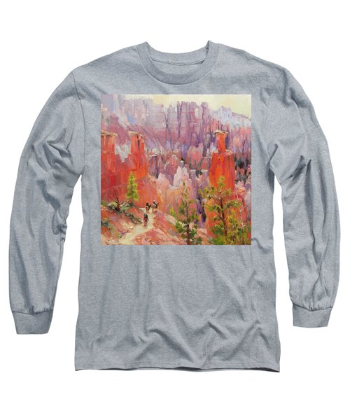 Descent Into Bryce Long Sleeve T-Shirt