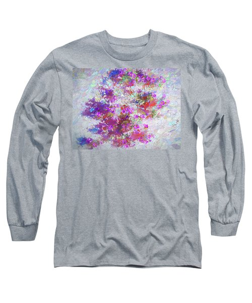 Desert Flowers Abstract 3 Long Sleeve T-Shirt