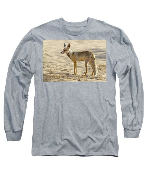 desert Fox 02 Long Sleeve T-Shirt by Arik Baltinester