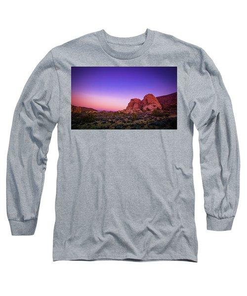Desert Grape Rock Long Sleeve T-Shirt