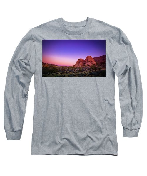 Desert Grape Rock Long Sleeve T-Shirt