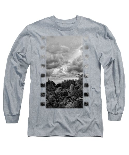 Desert In Clouds V15 Long Sleeve T-Shirt by Mark Myhaver