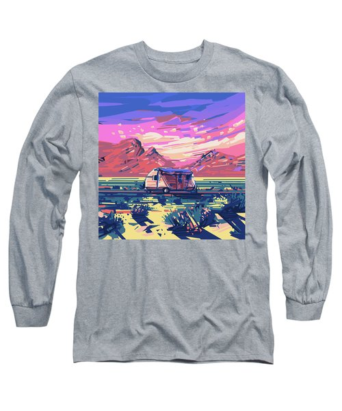 Desert Landscape Long Sleeve T-Shirt