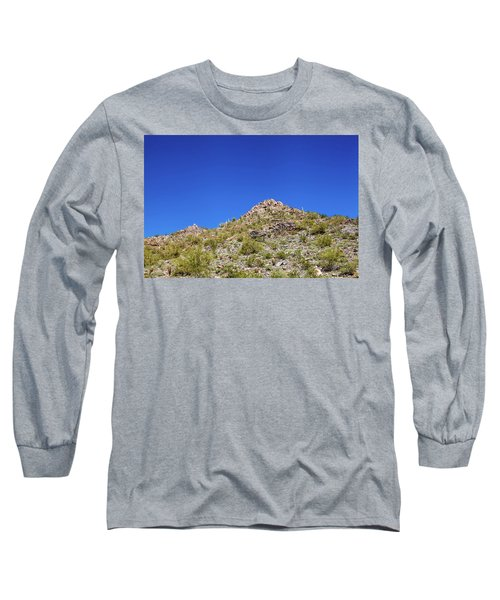 Long Sleeve T-Shirt featuring the photograph Desert Mountaintop by Ed Cilley