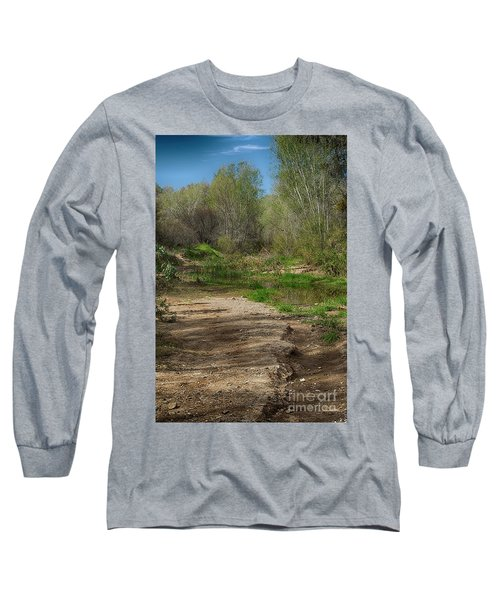 Long Sleeve T-Shirt featuring the photograph Desert Oasis by Anne Rodkin