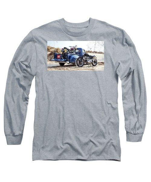 Desert Racing Long Sleeve T-Shirt by Mark Rogan