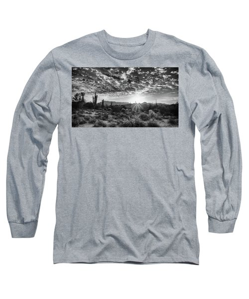 Desert Sunrise Long Sleeve T-Shirt by Monte Stevens