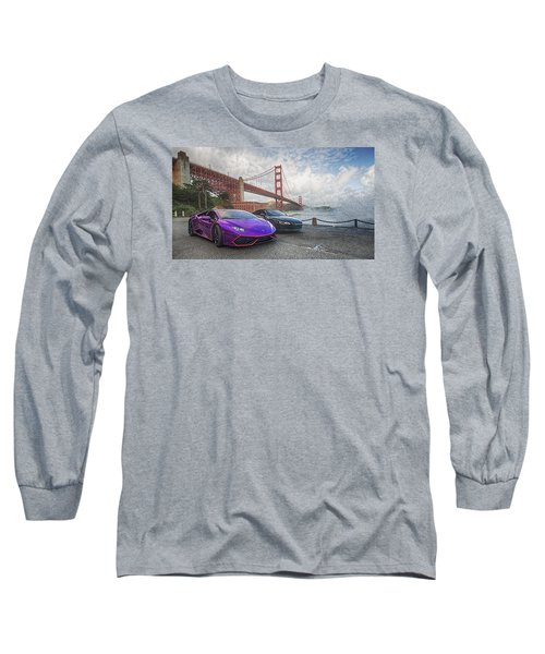 Long Sleeve T-Shirt featuring the photograph Desert To Bay Rally 2016 by Steve Siri