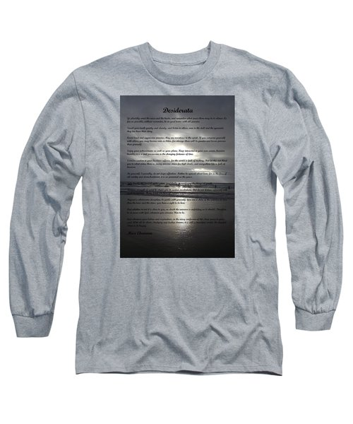 Desiderata 12 Long Sleeve T-Shirt