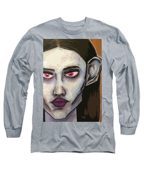 Detailed Beauty Long Sleeve T-Shirt