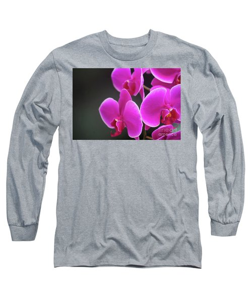 Details In Soft Colors  Long Sleeve T-Shirt