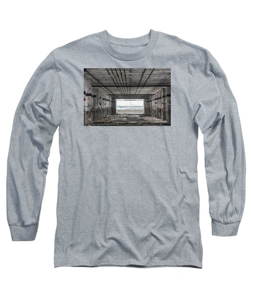 Detroit Packard Plant  Long Sleeve T-Shirt