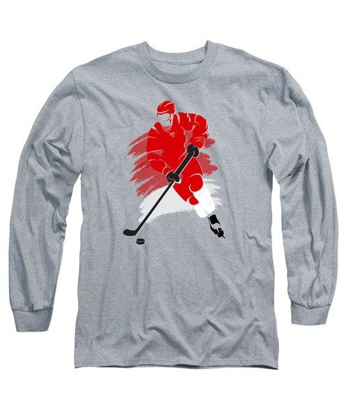 Detroit Red Wings Player Shirt Long Sleeve T-Shirt