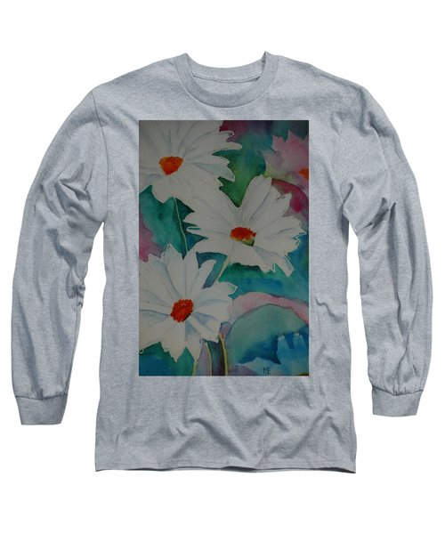 Devin's Dasies Long Sleeve T-Shirt