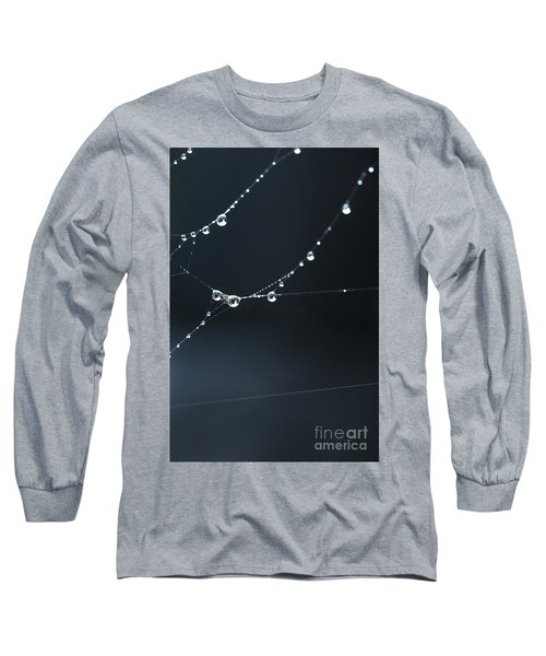 Dew On Cobweb 001 Long Sleeve T-Shirt