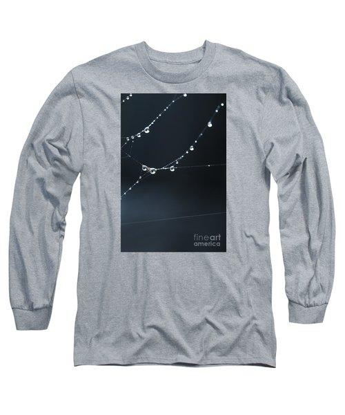 Dew On Cobweb 001 Long Sleeve T-Shirt