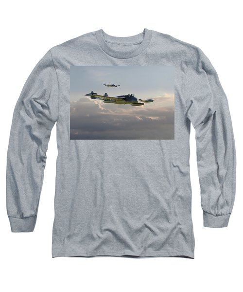 Long Sleeve T-Shirt featuring the photograph  Dh112 - Venom by Pat Speirs