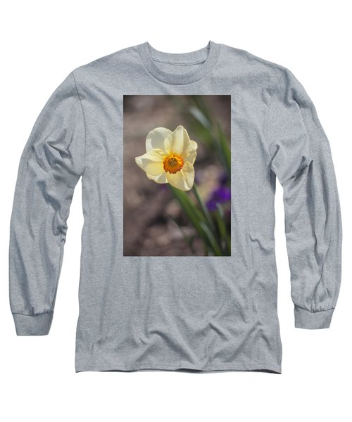 Diagonal Daffy Long Sleeve T-Shirt by Morris  McClung