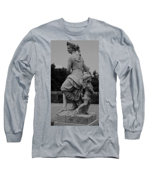 Long Sleeve T-Shirt featuring the painting Diana by Eric  Schiabor