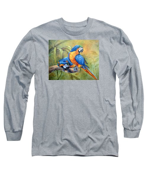 Did You See That Long Sleeve T-Shirt by Mary McCullah