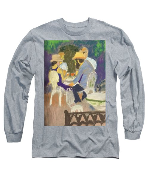 Diner's At Justine's Long Sleeve T-Shirt