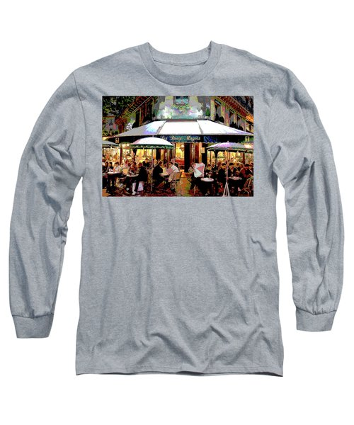 Dining Out Long Sleeve T-Shirt by Charles Shoup