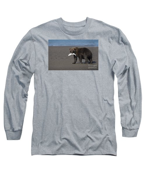 Long Sleeve T-Shirt featuring the photograph Dinner Time by Sandra Bronstein