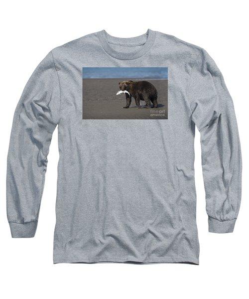 Dinner Time Long Sleeve T-Shirt by Sandra Bronstein