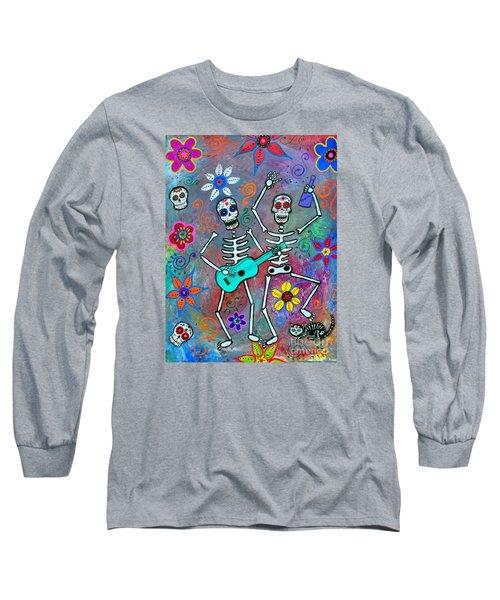 Disfrutando De La Vida Long Sleeve T-Shirt