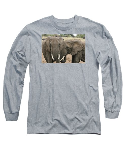 Long Sleeve T-Shirt featuring the photograph Display Of Affection by Gary Hall