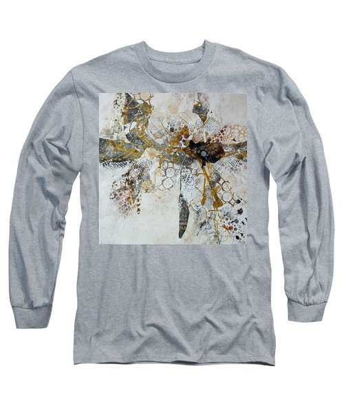Long Sleeve T-Shirt featuring the painting Diversity by Joanne Smoley