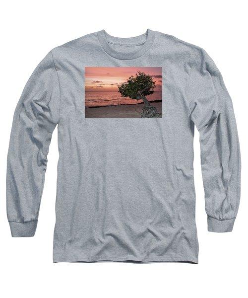 Divi Divi Aruba Long Sleeve T-Shirt by DJ Florek