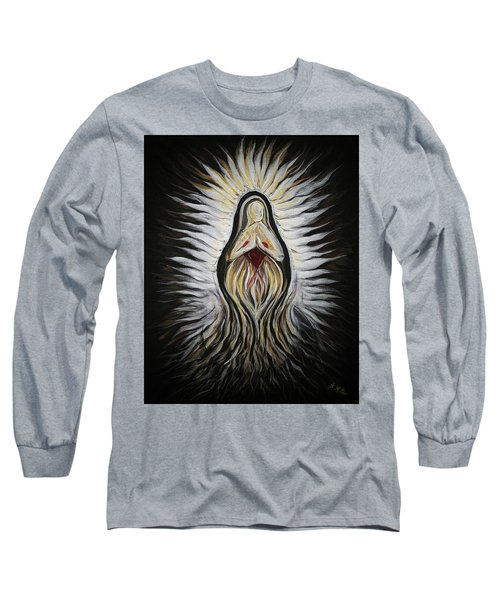 Divine Mother Milagro Long Sleeve T-Shirt