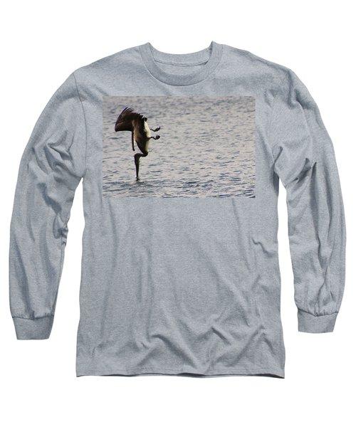 Diving Pelican Long Sleeve T-Shirt