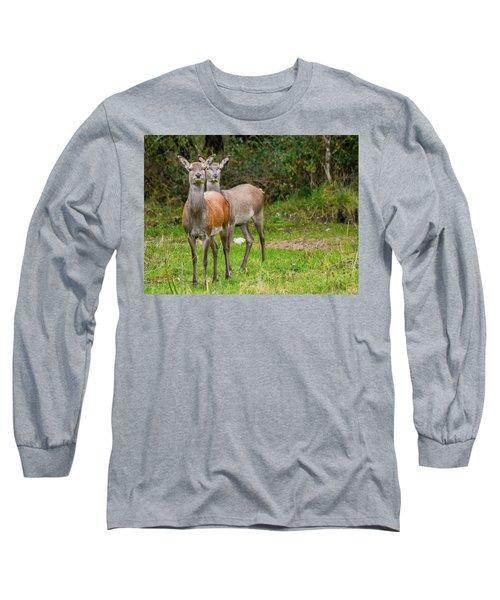 Doe Eyed Long Sleeve T-Shirt