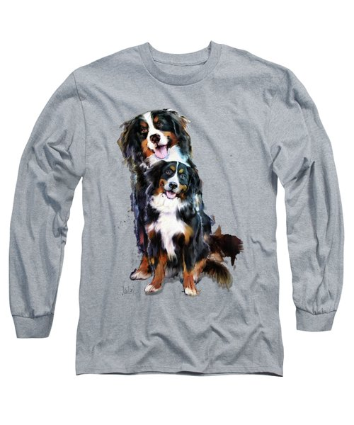 Dog Family Long Sleeve T-Shirt