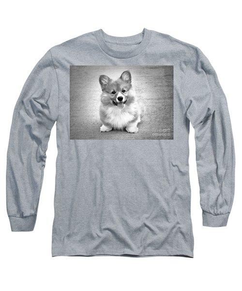 Puppy - Monochrome 6 Long Sleeve T-Shirt