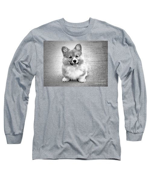 Puppy - Monochrome 6 Long Sleeve T-Shirt