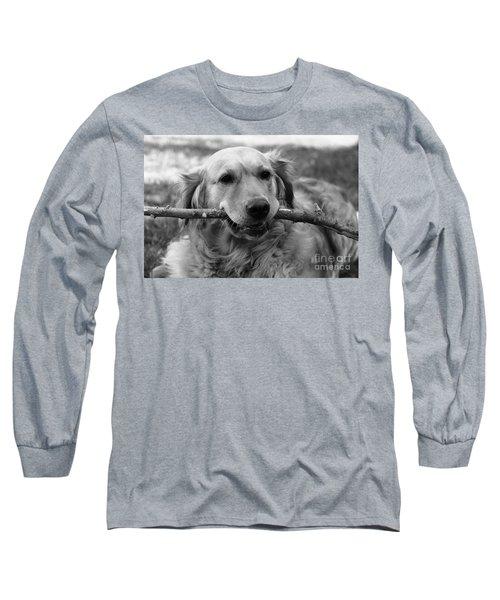 Dog - Monochrome 4 Long Sleeve T-Shirt