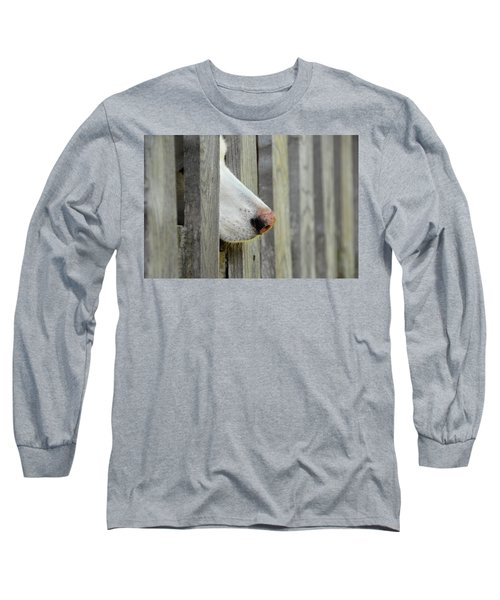 Dog Nose Long Sleeve T-Shirt