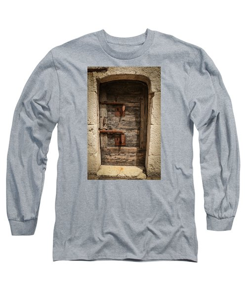 Long Sleeve T-Shirt featuring the photograph Doge's Jail Door by Kathleen Scanlan