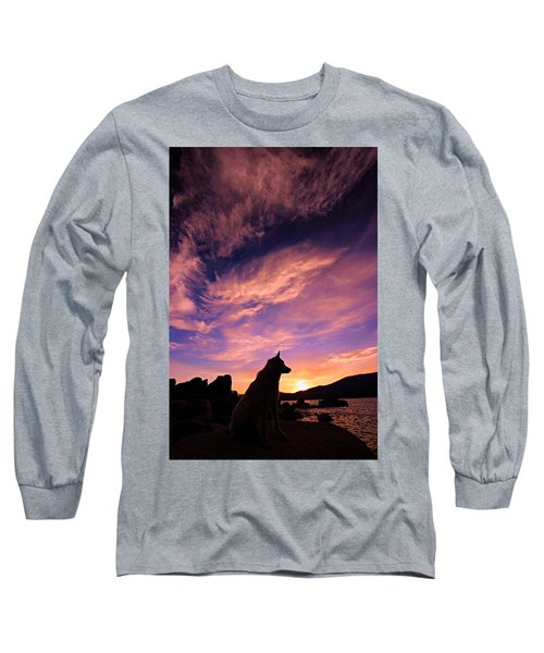 Dogs Dream Too Long Sleeve T-Shirt by Sean Sarsfield